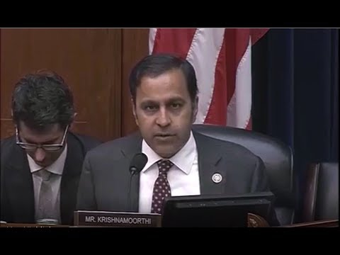 Congressman Krishnamoorthi Questions Security Clearance Vetting of Kushner & Flynn