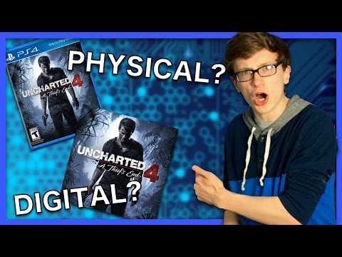 Physical vs Digital Games - Scott The Woz