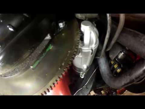 Bad starter bendix alignment