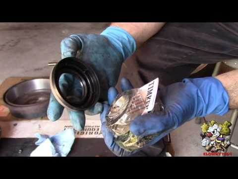 How To Replace Rear Axle Seals and Bearings - Ford 9 Inch