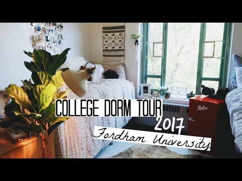 DORM TOUR 2017 (Fordham University) | Kaela Kilfoil