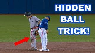 MLB   HIDDEN BALL TRICK! (FUNNY)   1080p HD