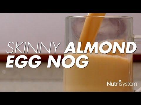 Almond Milk Eggnog
