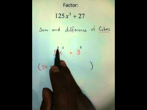 Moya Math Algebra 2 (Factoring Using SADOC 3)