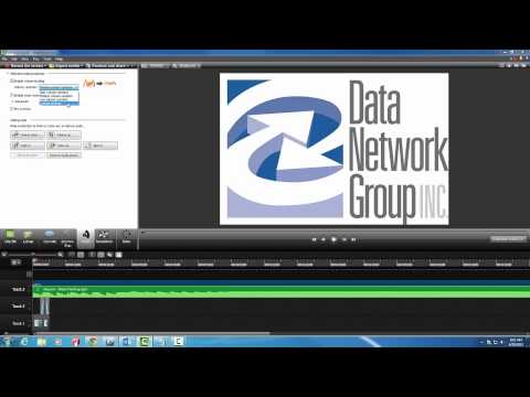 How to use Camtasia Studio to Record and Edit Videos