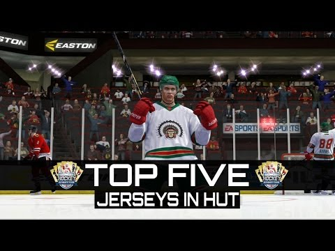 NHL 14 HUT | TOP 5 JERSEYS IN HUT!