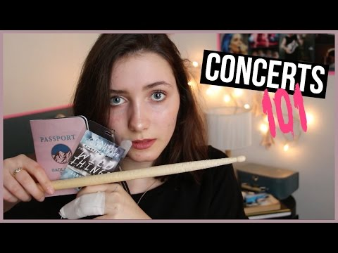 HOW TO HAVE THE BEST CONCERT EXPERIENCE EVER : Survival Tips // daphne