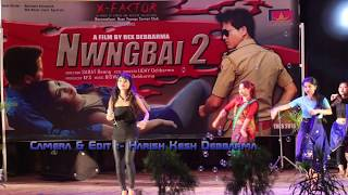 Parmita Reang's best performance stage show on the Nwngbai -2 Film Promotion Program,