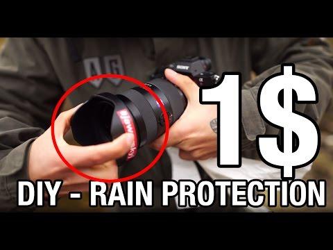 1$ Camera Rain Protection DIY - Learn Photography Benjamin Jaworskyj