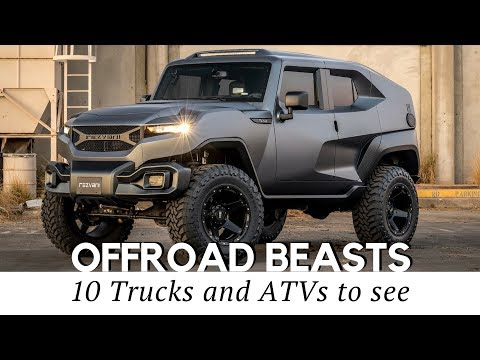 Top 10 Extreme Trucks and Vehicles for Any Off-road Adventure