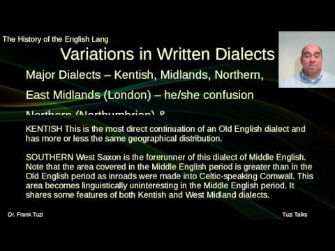Middle English Dialect Diversity
