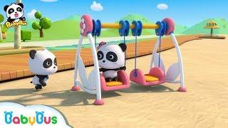 Baby Panda is Swinging   Learn Numbers   Nursery Rhymes   Kids Songs   Baby Cartoon   BabyBus