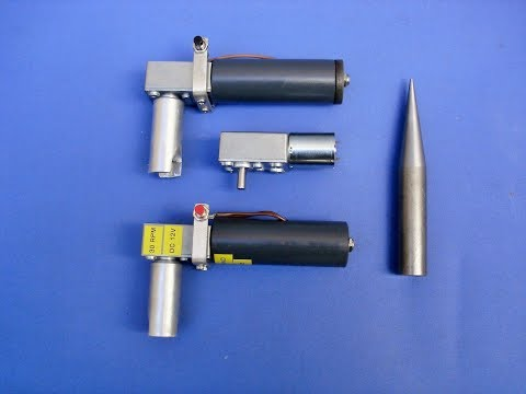 Easy To Make 12v DC Electronic Worm Drive Compound Angle Finishing Tool