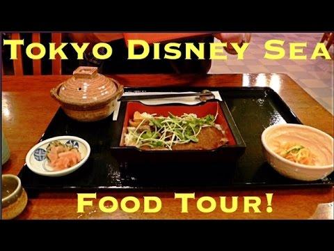 Tokyo DisneySea Food Tour! 東京ディズニーシーで食べ歩き!