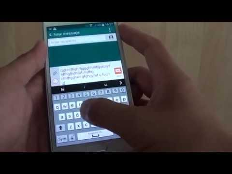 Samsung Galaxy S5: How to Enable/Disable Keyboard Vibration When Tapping