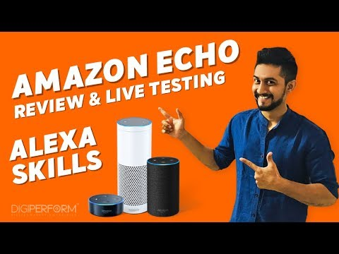 NEW Amazon Echo Review & Live Testing of Digital Marketing Skills with #AskDigiperform 2017