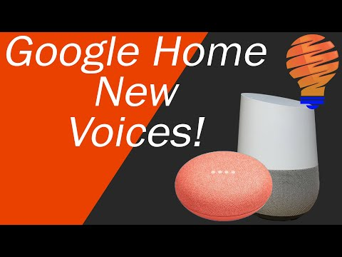 Changing Your Google Assistant Voice - Changing Your Google Home Voice