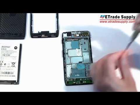 How to Take Apart/Tear Down Motorola Droid razr XT912/XT910 repair tutorial