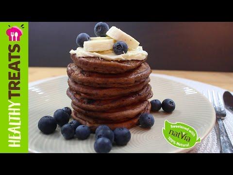 Chocolate Pikelets - Sugar Free Mini Chocolate Pancakes