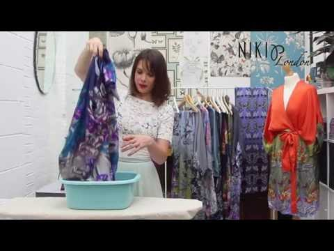 How to wash silk at home