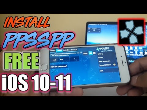 NEW How To Install PSP & Games FREE iOS 11 - 11.2.2 / 11.2.5 NO Jailbreak iPhone iPad iPod Touch