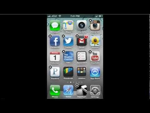 How to rearrange and move iPhone apps