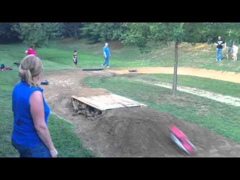Backyard Bashing RC Track Race