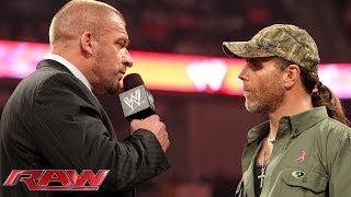 Triple H and Shawn Michaels don