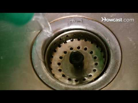 How to Clean a Sink Drain