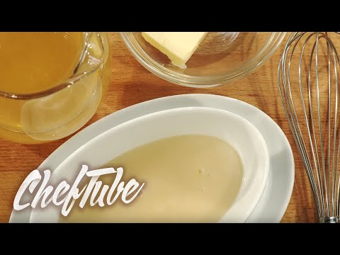 How to make a Velouté Sauce - full details in the description