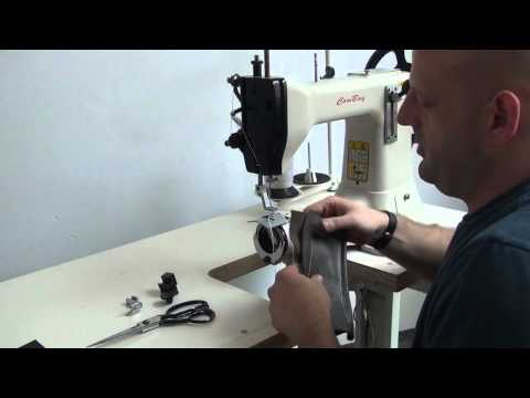Extra heavy duty leather sewing machine with lowest price