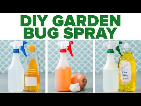 DIY Garden Bug Spray