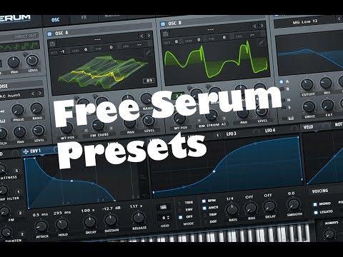 Free Serum presets pack [DUBSTEP, HYBRID TRAP]