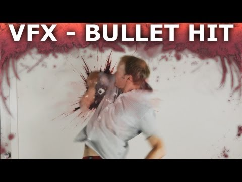 How to Make Realistic Looking Bullet Hit Effects - Visual Effects 101