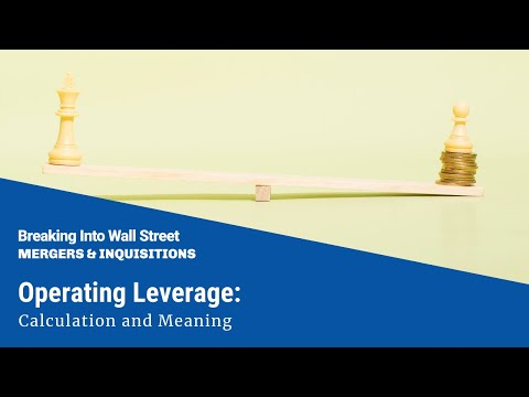 Operating Leverage: Calculation and Meaning