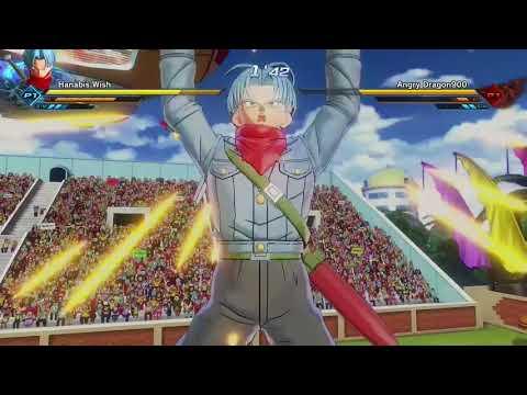 Dragon Ball Xenoverse 2 Trunks DB Super Vs Goku Black Online Battle