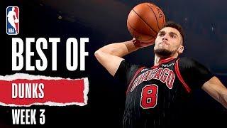 NBA's Best Dunks   Week 3   2019-20 NBA Season