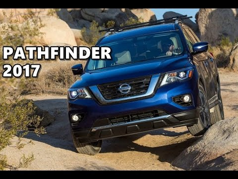 2017 Nissan Pathfinder Off Road Action