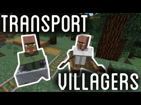 How To Transport Villagers in Minecraft