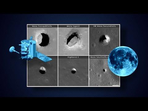 Nasa acha cavernas na Lua que poderão ser abrigo para astronautas