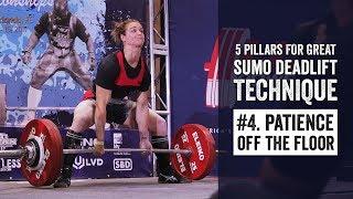 Sumo Pillar #3   Tightness in the Start Position