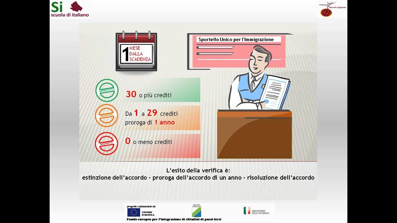 10 - Accordo di integrazione - Informazioni utili - Scuola di italiano