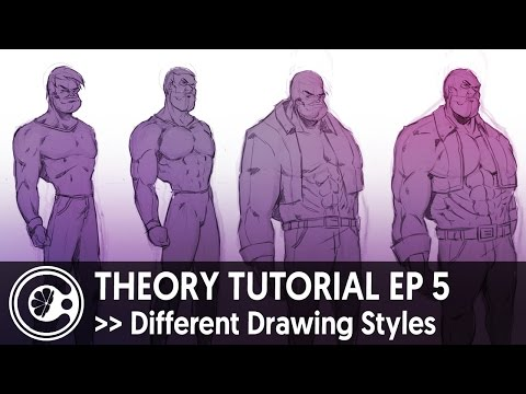 Theory Tutorial Ep 5 - Different Drawing Styles