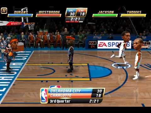 NBA JAM Full Gameplay iPhone Version