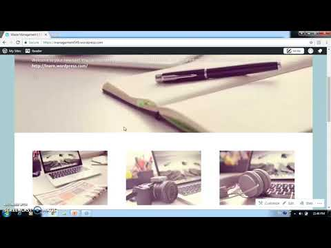 How to create wordpress website in marathi