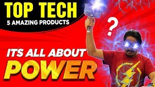 Top Tech Gadgets Under Rs. XXXX - It's all about power ⚡
