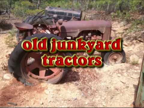 junk yard tractors and doddle bugs,