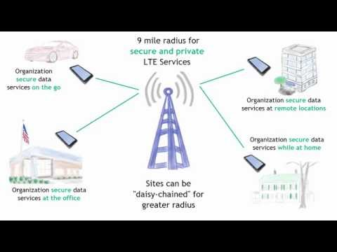 Extending LTE services to a Secure, Internal and Private Network