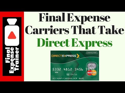 Final Expense Carriers That Take Direct Express