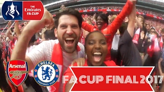 THE EMIRATES FA CUP FINAL  ARSENAL 2- 1 CHELSEA
